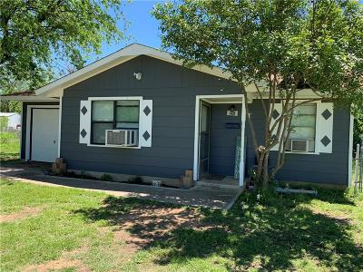 Brownwood Single Family Home Active Option Contract: 1108 Lackey Street