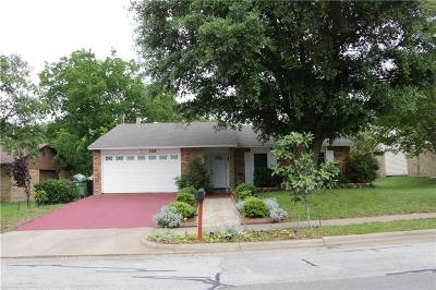 North Richland Hills Single Family Home For Sale: 6508 Wakefield Road