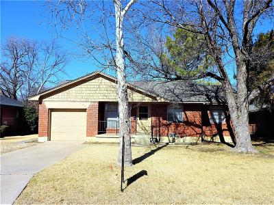 Denton Single Family Home For Sale: 1013 Sierra Drive