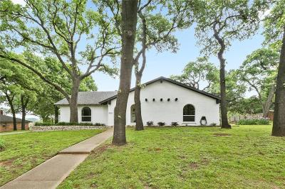 Colleyville Single Family Home Active Option Contract: 5700 Oak Top Drive