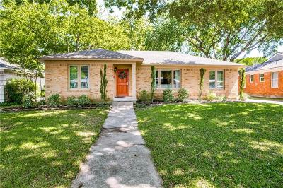 Single Family Home Active Option Contract: 7222 Dalewood Lane