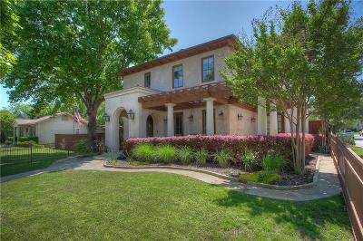 Fort Worth Single Family Home For Sale: 3829 W 6th Street