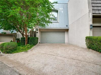 Dallas Townhouse For Sale: 4225 Tomberra Way