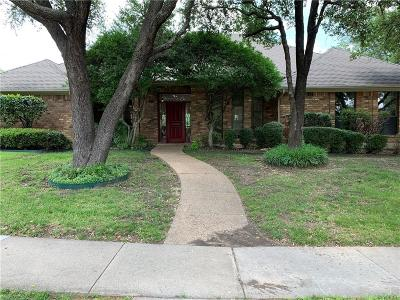 Carrollton Single Family Home Active Option Contract: 2319 Sheffield Square