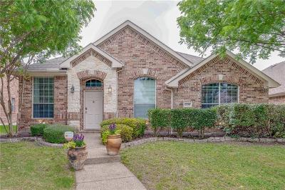 Frisco Single Family Home Active Option Contract: 12390 Ducks Landing