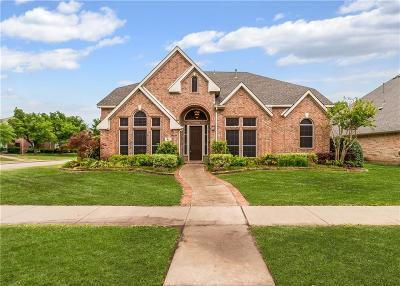 Coppell Single Family Home For Sale: 414 Hampton Drive