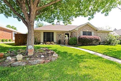 Coppell Single Family Home Active Option Contract: 655 Hood Drive