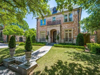 Dallas County Single Family Home For Sale: 3201 Cornell Avenue