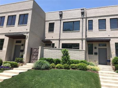 Fort Worth Townhouse For Sale: 3634 Tulsa Way