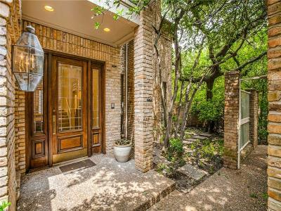 Dallas Single Family Home For Sale: 12143 Vendome Place