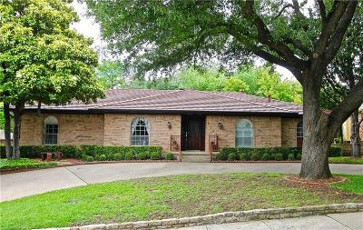 Lake Highlands Single Family Home Active Option Contract: 6847 Topsfield Drive