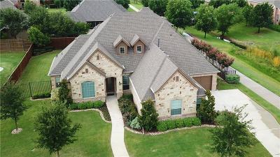 Keller Single Family Home Active Option Contract: 804 Ridge Point Parkway