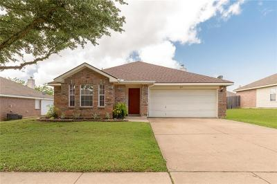 Burleson Single Family Home Active Option Contract: 837 Edgehill Road