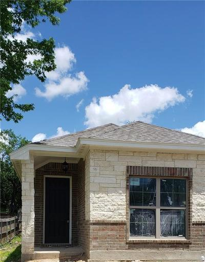Waxahachie Single Family Home Active Option Contract: 603 Dr Martin Luther King Jr Boulevard
