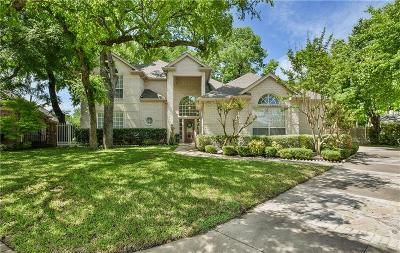 Fort Worth Single Family Home For Sale: 5800 Forest Bend Place