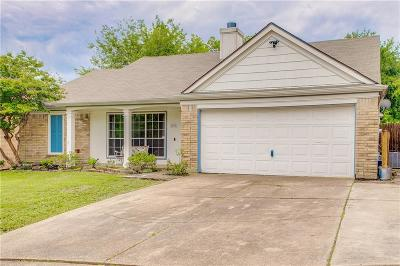 Rowlett Single Family Home Active Option Contract: 7705 Spinnaker Cove