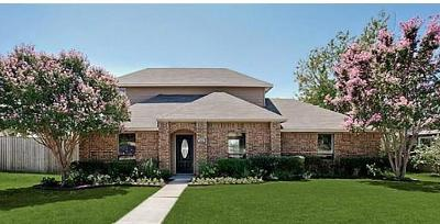 Plano Single Family Home Active Option Contract: 508 Rawhide Court