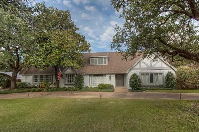 Fort Worth Single Family Home For Sale: 6332 Halifax Road