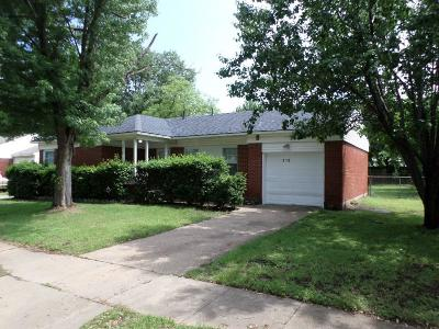 Irving Single Family Home Active Option Contract: 310 16th Street W