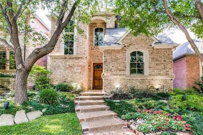 Dallas TX Single Family Home For Sale: $895,000