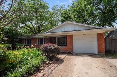 Farmers Branch Single Family Home Active Contingent: 13323 Mount Castle Drive