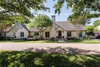Dallas County Single Family Home For Sale: 5514 Caruth Boulevard