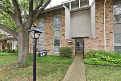 Lake Highlands Townhouse For Sale: 9827 Smokefeather Lane
