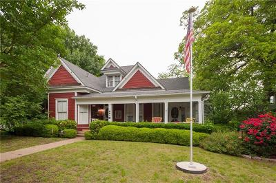 Waxahachie Single Family Home Active Option Contract: 500 W Main Street