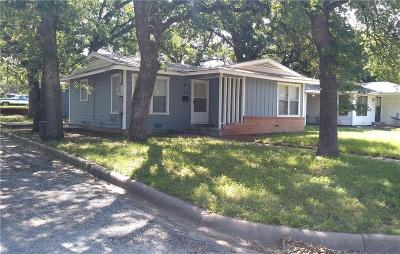 Palo Pinto County Single Family Home For Sale: 1816 NW 1st Avenue