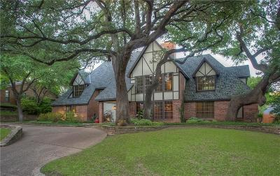 Fort Worth Single Family Home For Sale: 6908 Tumbling Trail