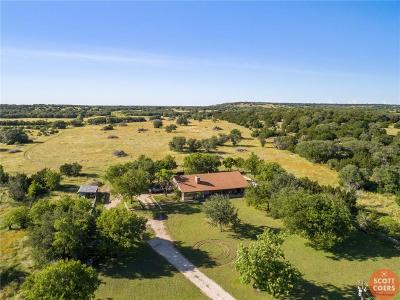 Mills County Farm & Ranch For Sale: 1152 W Fm 218