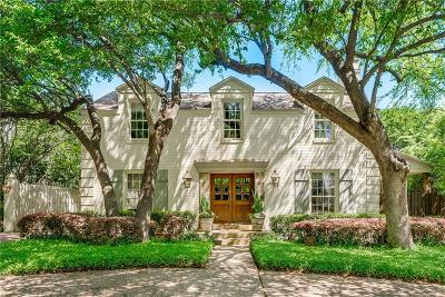 Fort Worth Single Family Home Active Option Contract: 3816 Hamilton Avenue