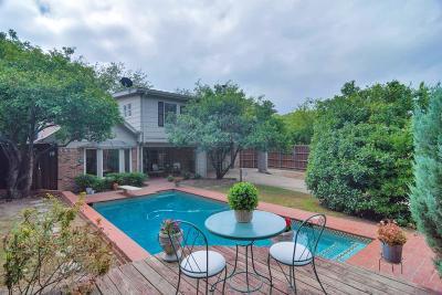 Dallas Single Family Home For Sale: 9805 Estate Lane