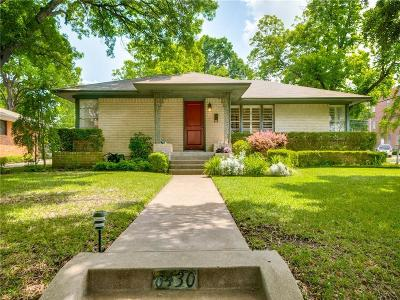 Dallas County Single Family Home For Sale: 6430 Woodcrest Lane