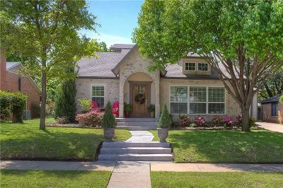 Fort Worth Single Family Home For Sale: 3833 Mattison Avenue
