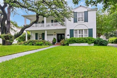 Fort Worth Single Family Home For Sale: 2413 Colonial Parkway