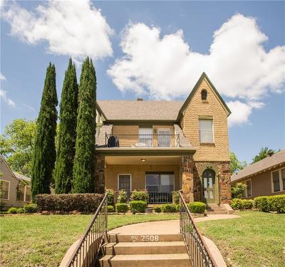 Fort Worth Multi Family Home For Sale: 2508 Lubbock Avenue