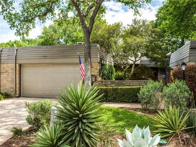 Lake Highlands Townhouse For Sale: 8308 Southmeadow Circle