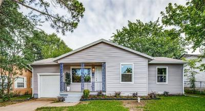 Irving Single Family Home For Sale: 2227 Morgan Street