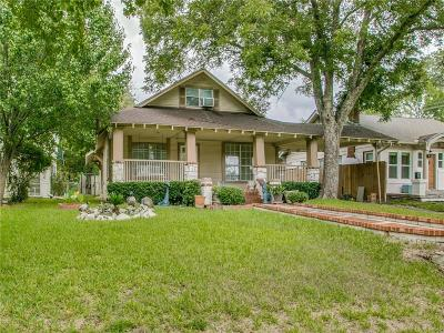 Dallas Single Family Home For Sale: 5843 Richmond Avenue