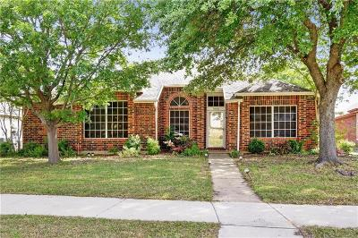 The Colony Single Family Home Active Option Contract: 7008 Blalock Drive