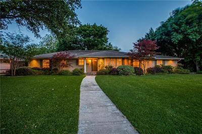 Dallas County Single Family Home Active Option Contract: 5916 Willow Lane