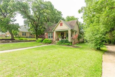 Dallas County, Denton County, Collin County, Cooke County, Grayson County, Jack County, Johnson County, Palo Pinto County, Parker County, Tarrant County, Wise County Single Family Home For Sale: 2212 Yucca Avenue