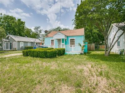 Dallas County Residential Lots & Land For Sale: 6925 Tyree Street
