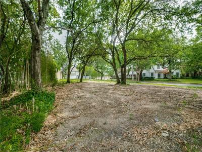 Highland Park Residential Lots & Land For Sale: 3121 Beverly Drive