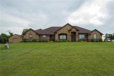 Weatherford Single Family Home Active Contingent: 190 N Star Crossing Lane