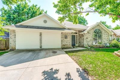 Euless Single Family Home Active Option Contract: 2705 Canterbury Street
