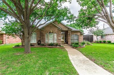 Frisco Single Family Home Active Option Contract: 8520 Timber Crest Court