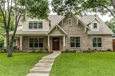 Richardson Single Family Home For Sale: 804 Northlake Drive
