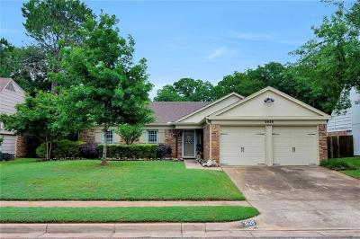 Bedford Single Family Home Active Option Contract: 3628 Windsong Lane